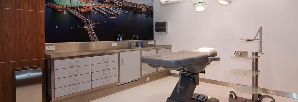 Beste haartransplantatie kliniek Amsterdam behandelkamer 999x344