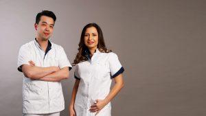 artsen Drs. Wing Yuen en Drs. Stefania Stana