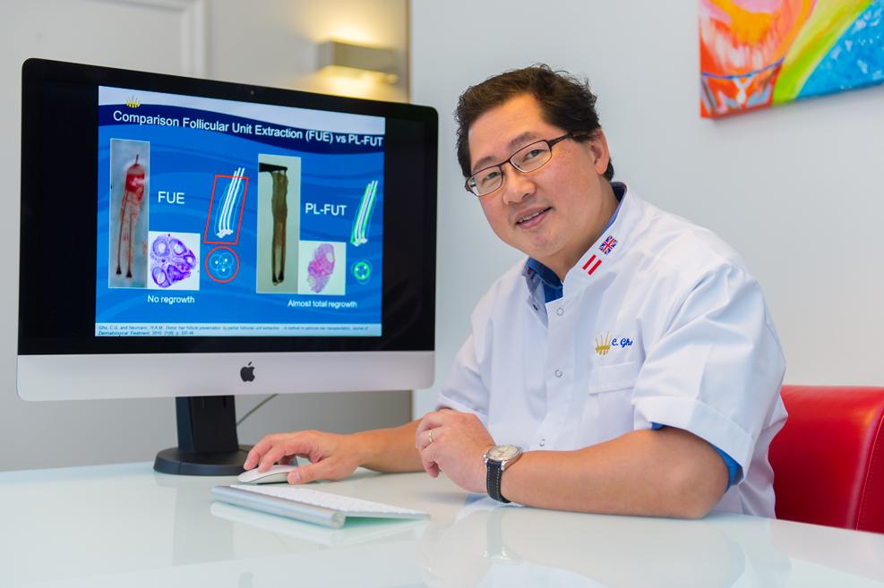 HST haartransplantatie dr. Coen Gho