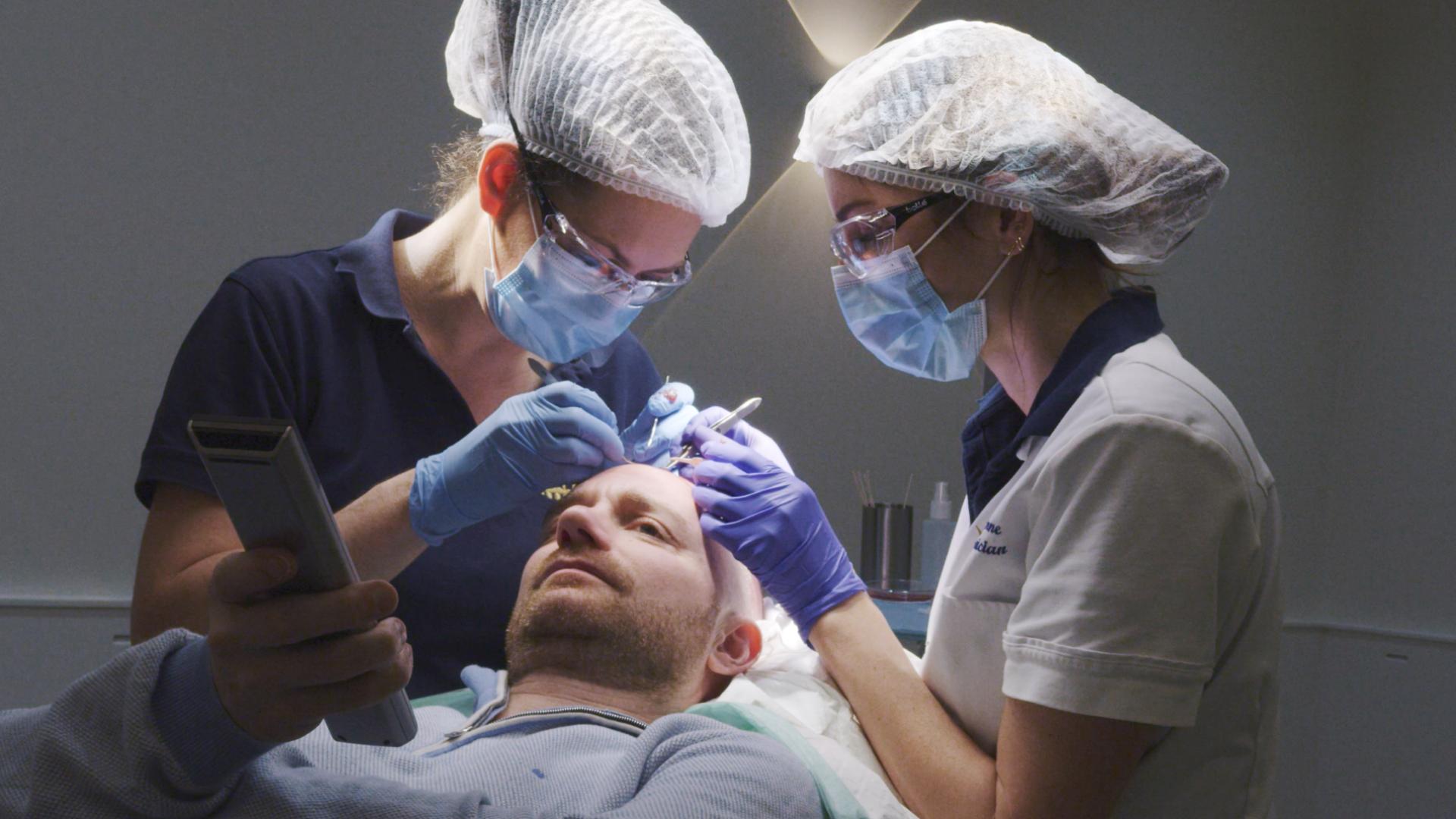 Haartransplantatie mannen bij Hair Science Clinic