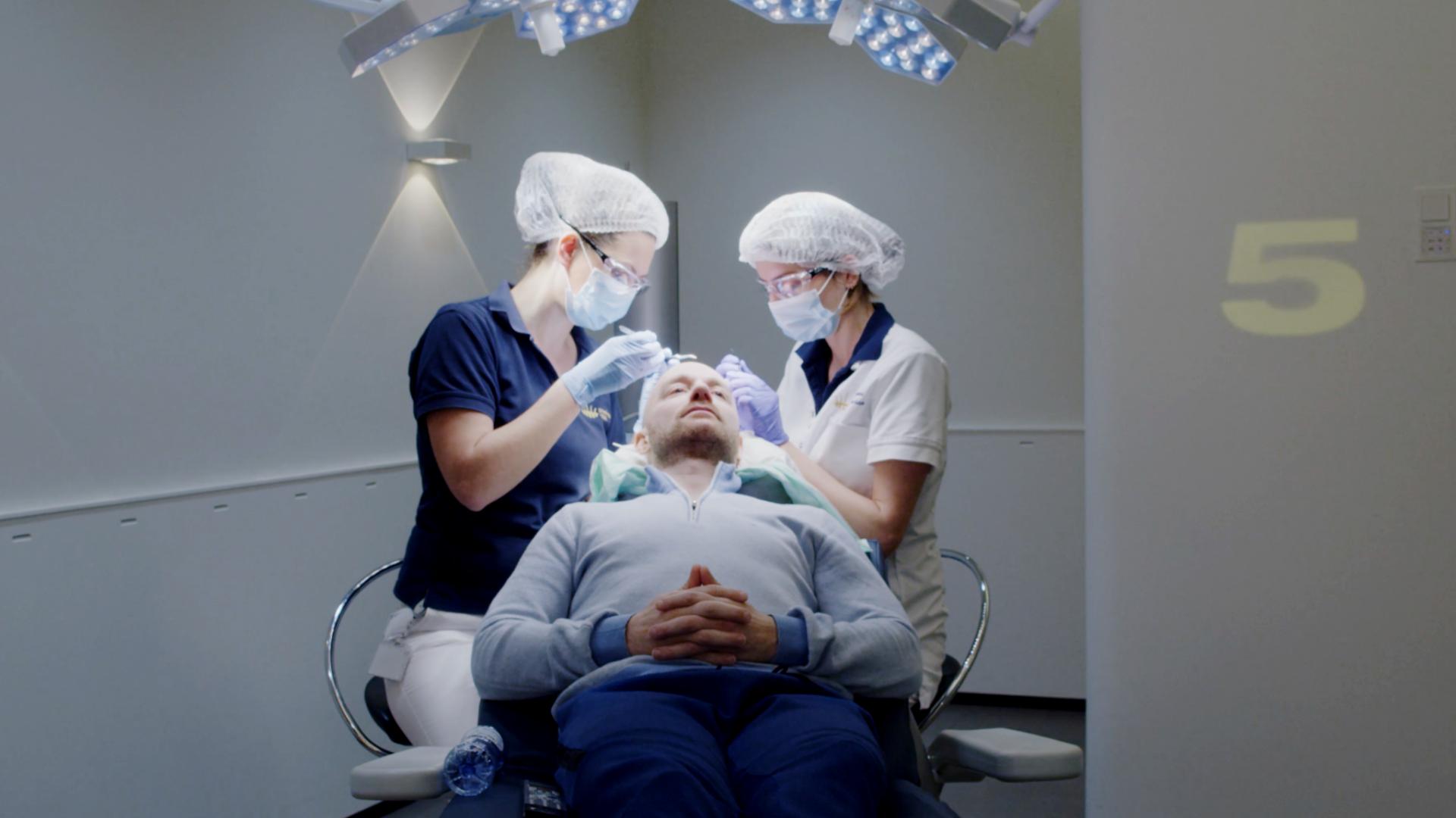 Haartransplantatie mannen Hair Science Clinic
