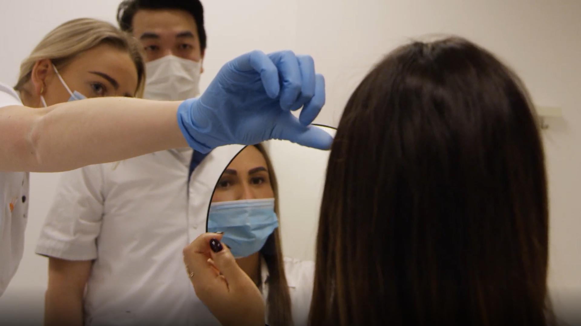 Nieuwe wenkbrauwen voor Lidwien - Hair Science Clinic